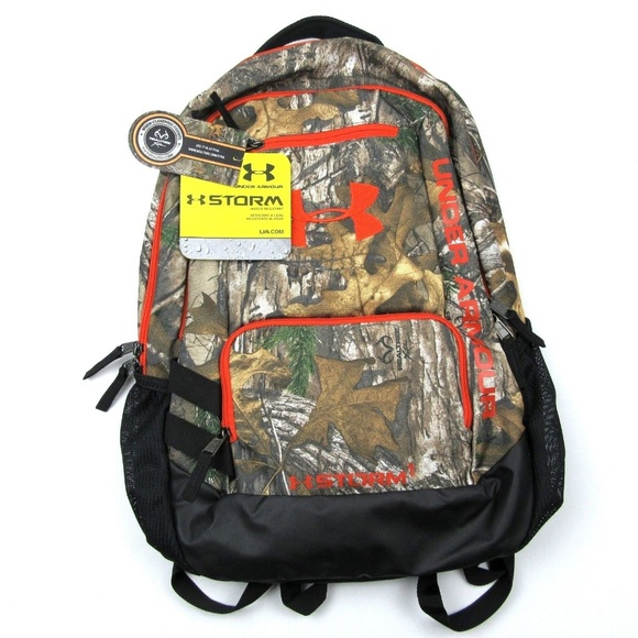 dabe64e4ce3b NEW Under Armour Storm Camo Backpack Realtree
